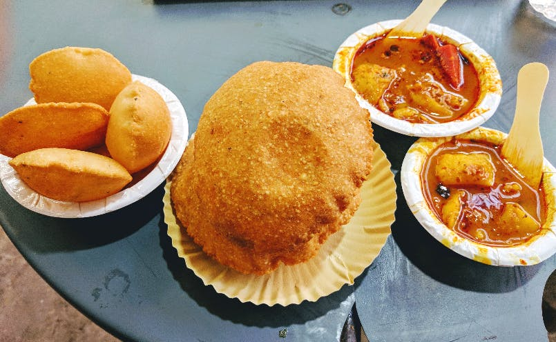 Dish,Food,Cuisine,Ingredient,Chole bhature,Produce,Fast food,Junk food,Staple food,Baked goods