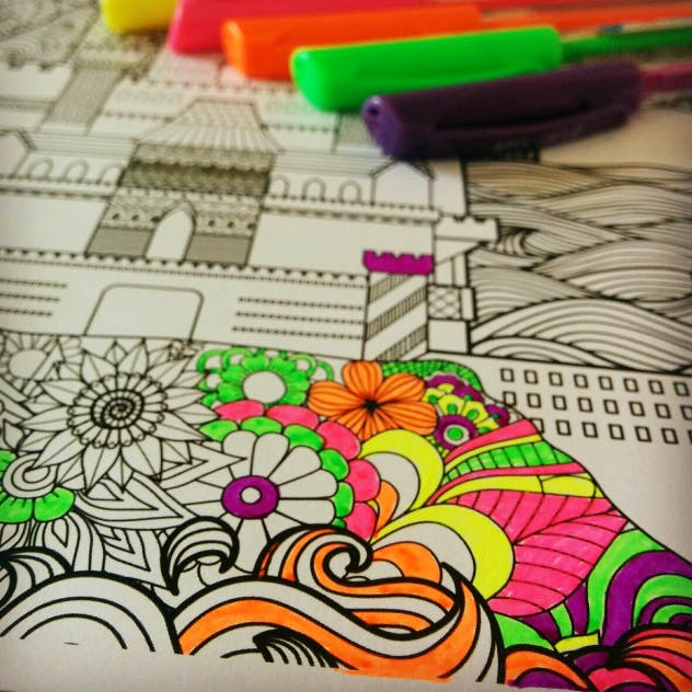 Umeni Therapy: This Amazing Colouring Book Will Help You To Relieve Stress!