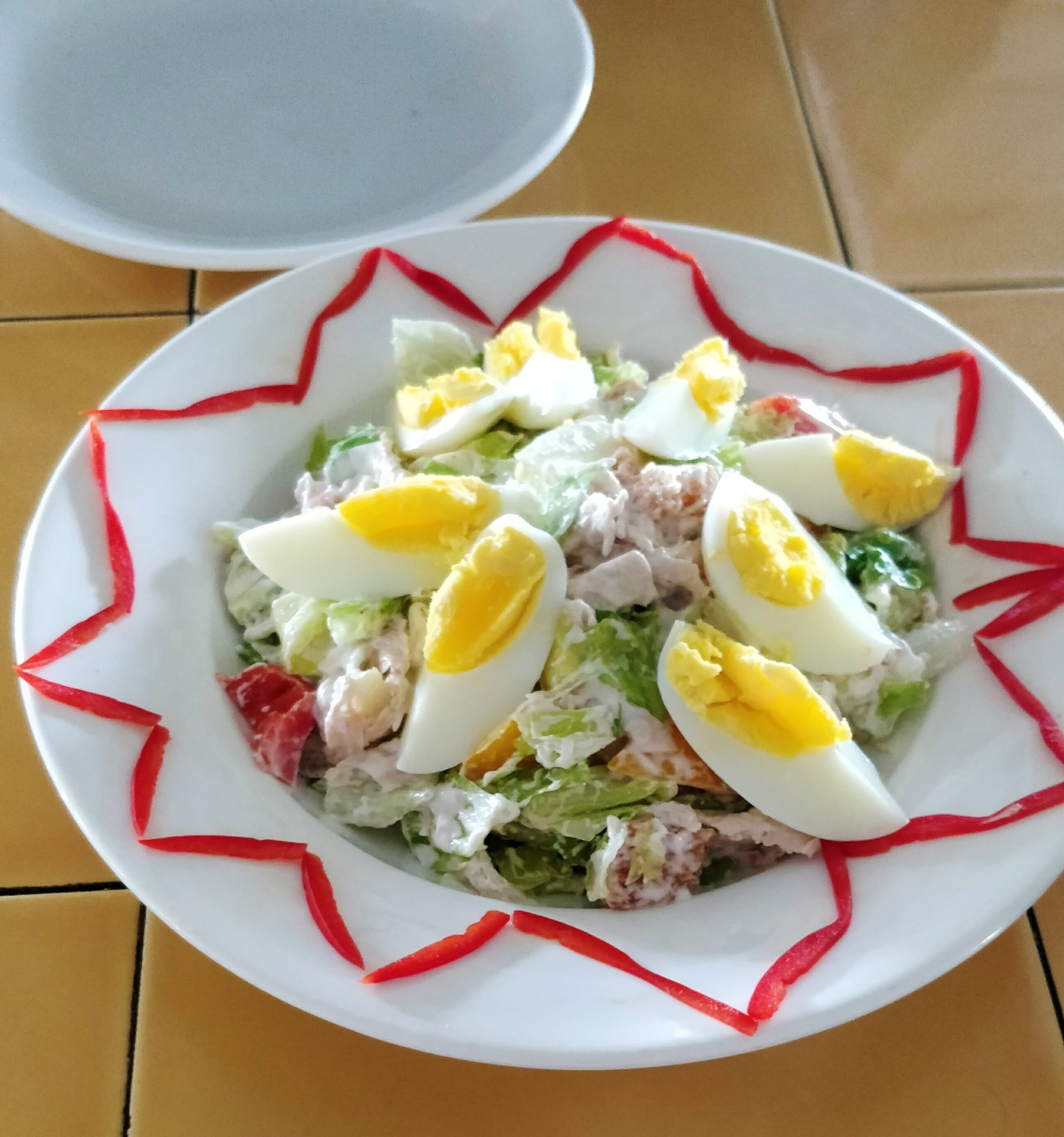 Dish,Food,Cuisine,Salad,Ingredient,Egg salad,Produce,Staple food,Salad niçoise,Recipe