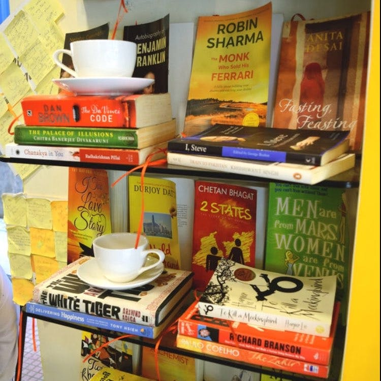 Steamy Mugs In Chembur East Is The Perfect Cafe For A Book-Lover