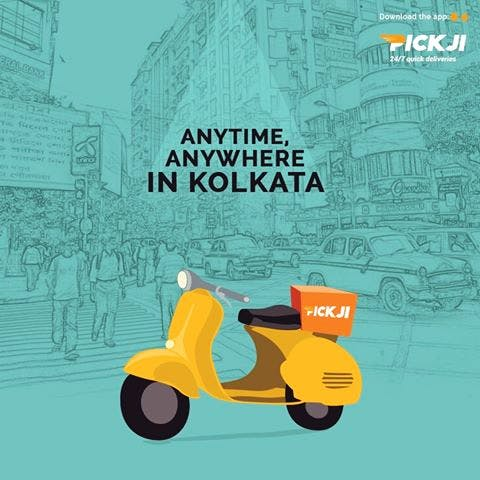 Do You Need To Deliver Something Really Quick In The City Of Joy? Pickji Is At Your Service!