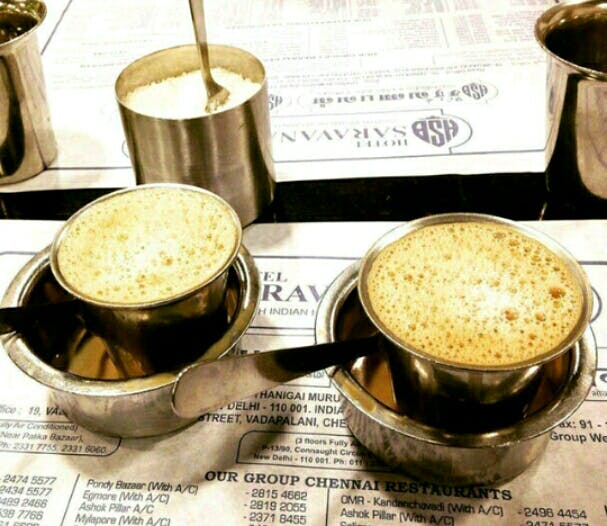 Cup,Indian filter coffee,White coffee,Coffee cup,Drink,Coffee,Ipoh white coffee,Food,Cup,Caffè americano
