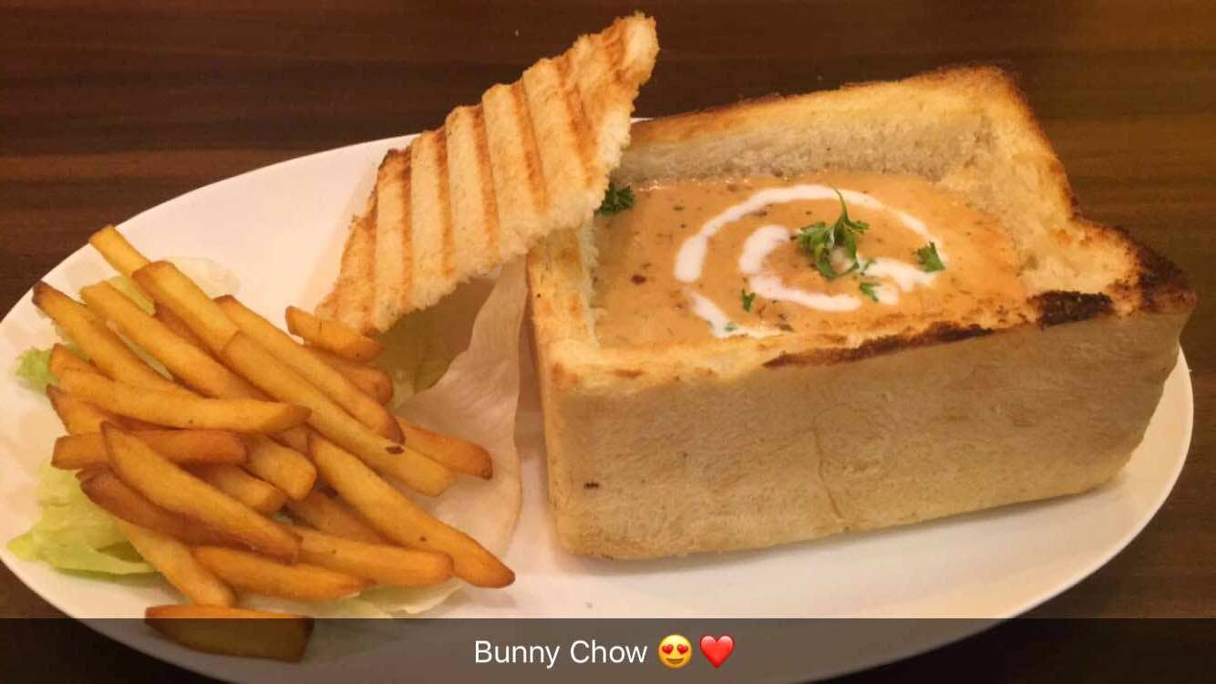 Have the best bunny chow at this FRIENDS themed cafe