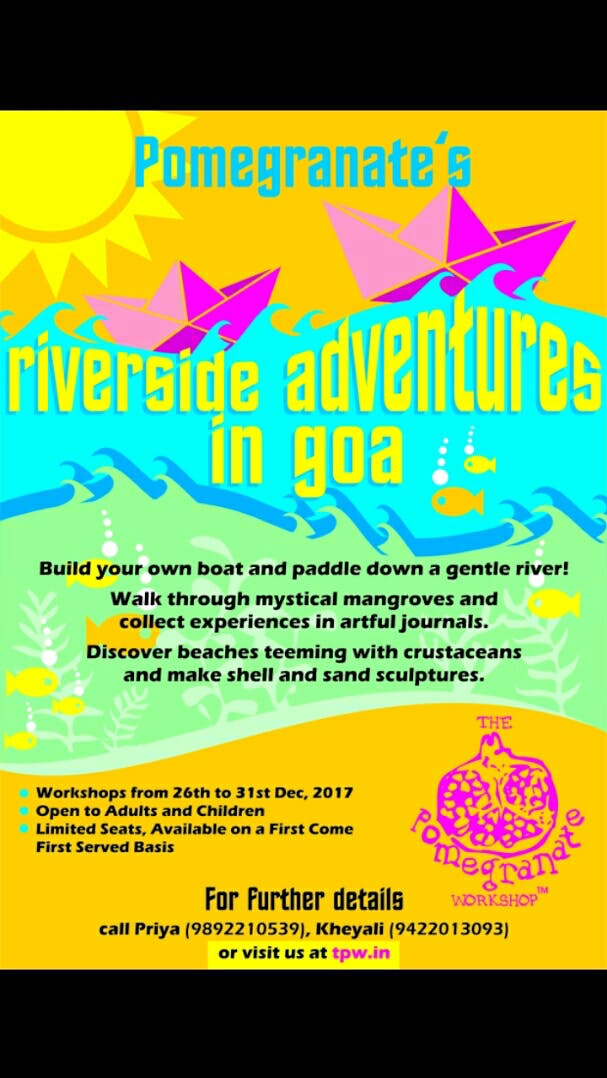 Attend This Set Of Adventurous Workshops In Goa This December