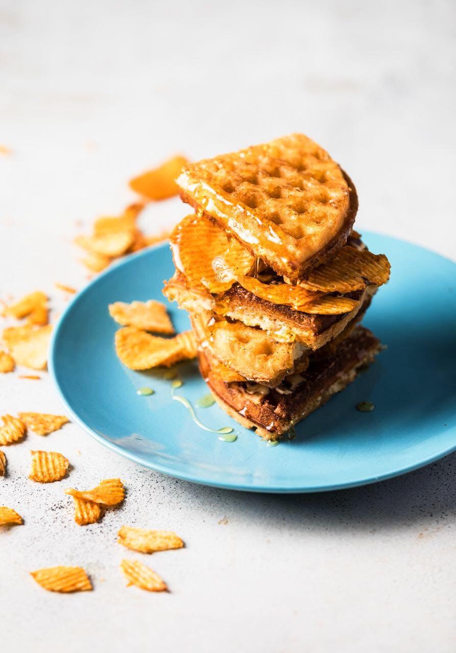Food,Dish,Cuisine,Waffle,Cracker,Graham cracker,Ingredient,Snack,Biscuit,Breakfast