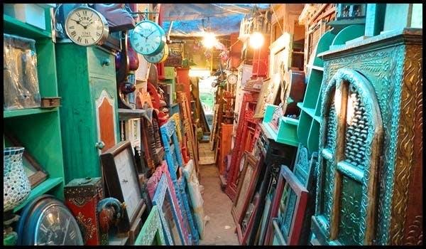 Turquoise,Building,Turquoise,Bazaar,City