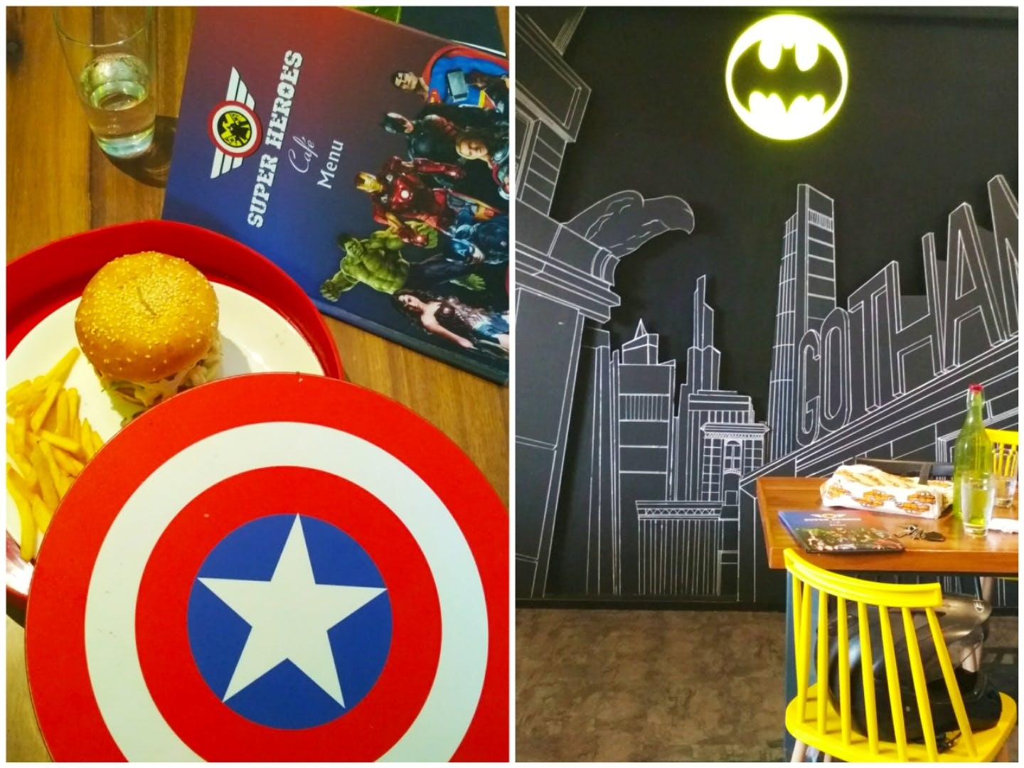 image - Super Heroes Cafe