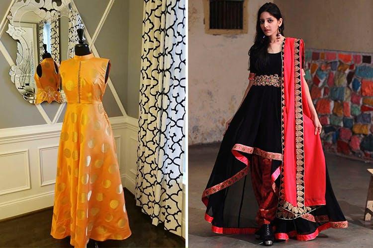 Clothing,Dress,Orange,Fashion model,Formal wear,Fashion,Fashion design,Peach,Gown,Textile