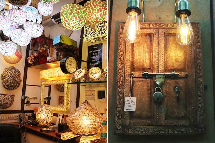 image - 6 Bhagirath Palace Shops For Vintage Lamps, Fairy Lights & More Starting At INR 50!