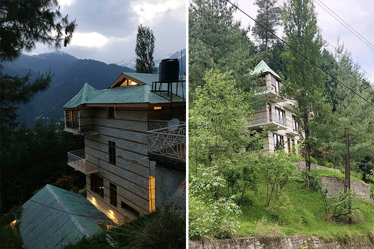 Nature,House,Tree,Hill station,Architecture,Property,Sky,Home,Mountain,Building