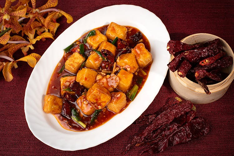 Dish,Food,Cuisine,Ingredient,Produce,Kung pao chicken,Mapo doufu,Vegetarian food,Caponata,Meat