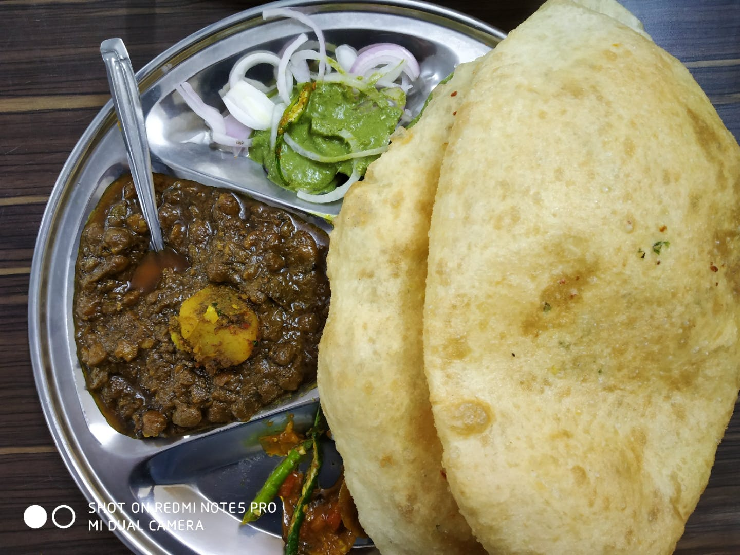 Civil Lines Wala ServesThe Best Chhole Bhature In Town