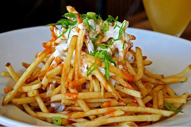 Dish,Food,Cuisine,French fries,Ingredient,Junk food,Fried food,Karedok,Side dish,Coleslaw
