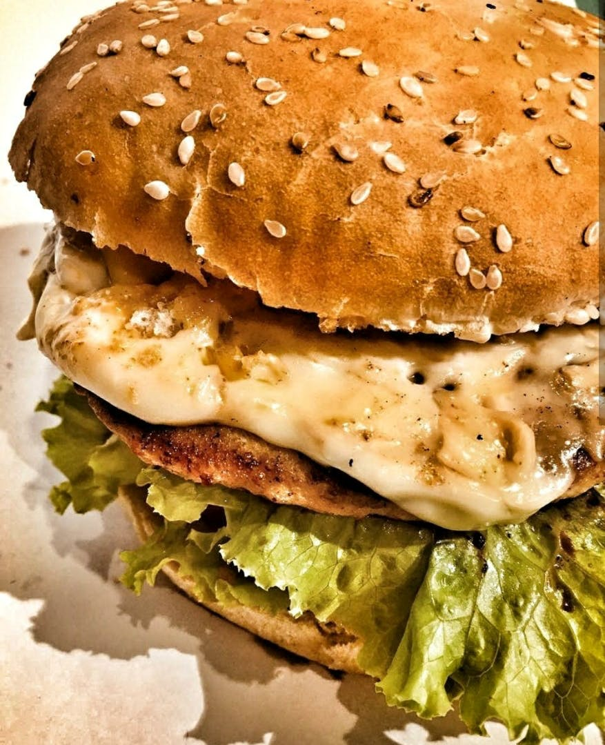 Food,Hamburger,Dish,Fast food,Original chicken sandwich,Veggie burger,Cuisine,Burger king premium burgers,Breakfast sandwich,Ingredient