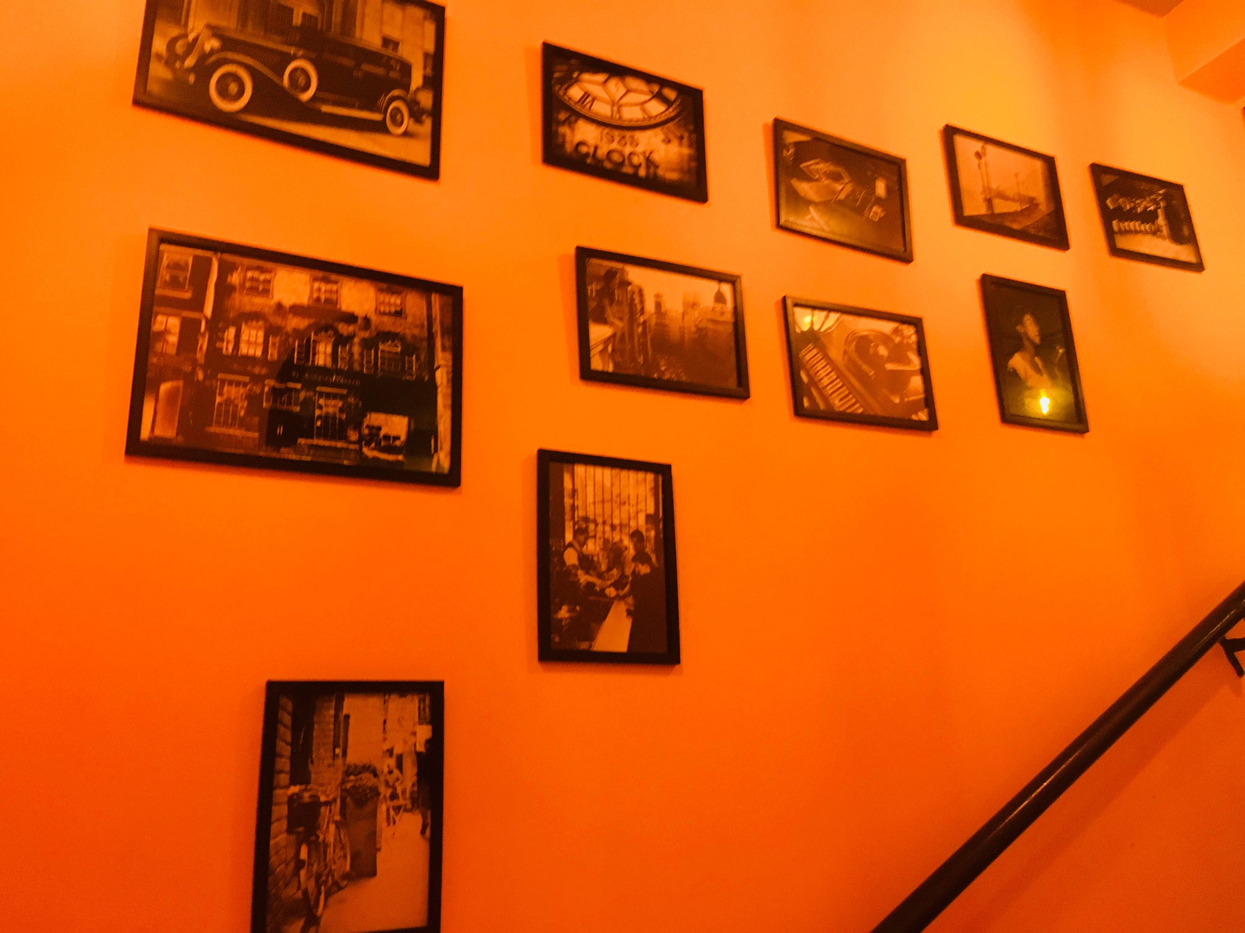 Orange,Wall,Art,Art gallery,Exhibition,Art exhibition,Visual arts,Collection,Vernissage,Event