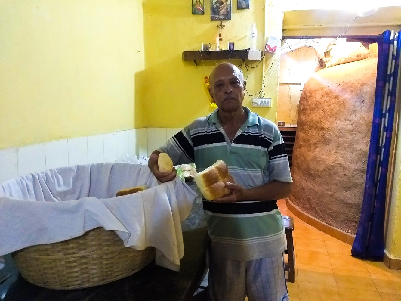 This Third Generation Baker Sells Authentic Poi At The Majorda Station