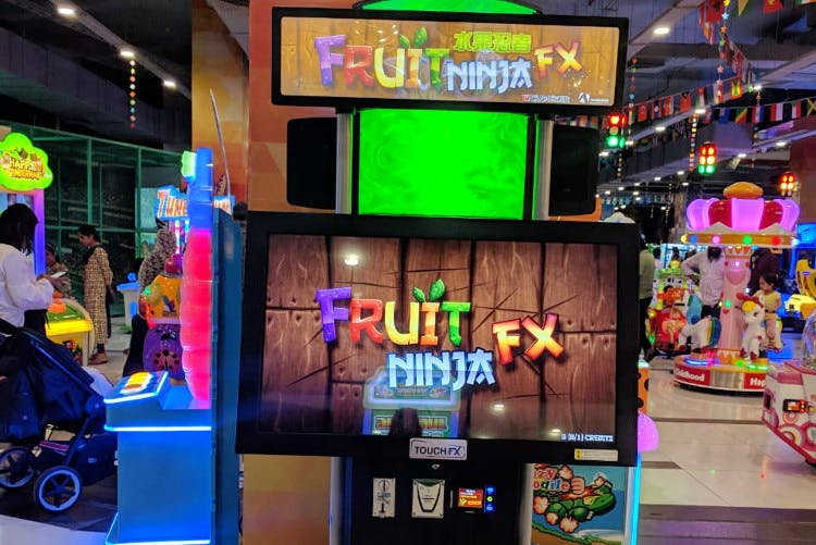 Games,Technology,Neon,Recreation,Machine,Electronic device,Arcade game,Fictional character