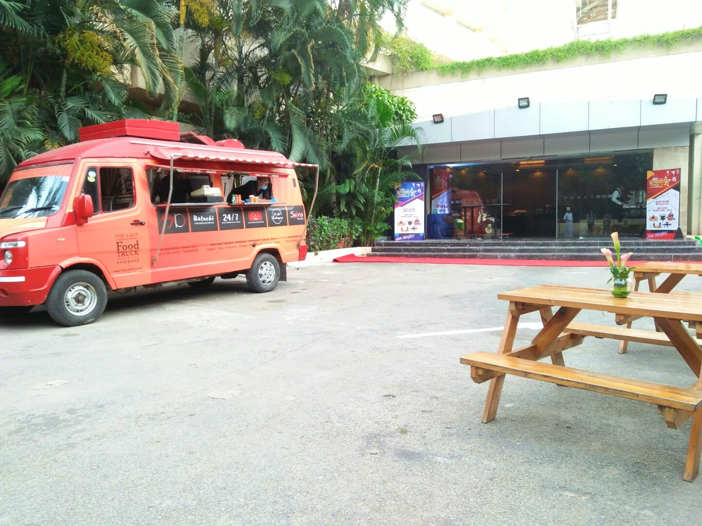 image - The Lalit Food Truck Company