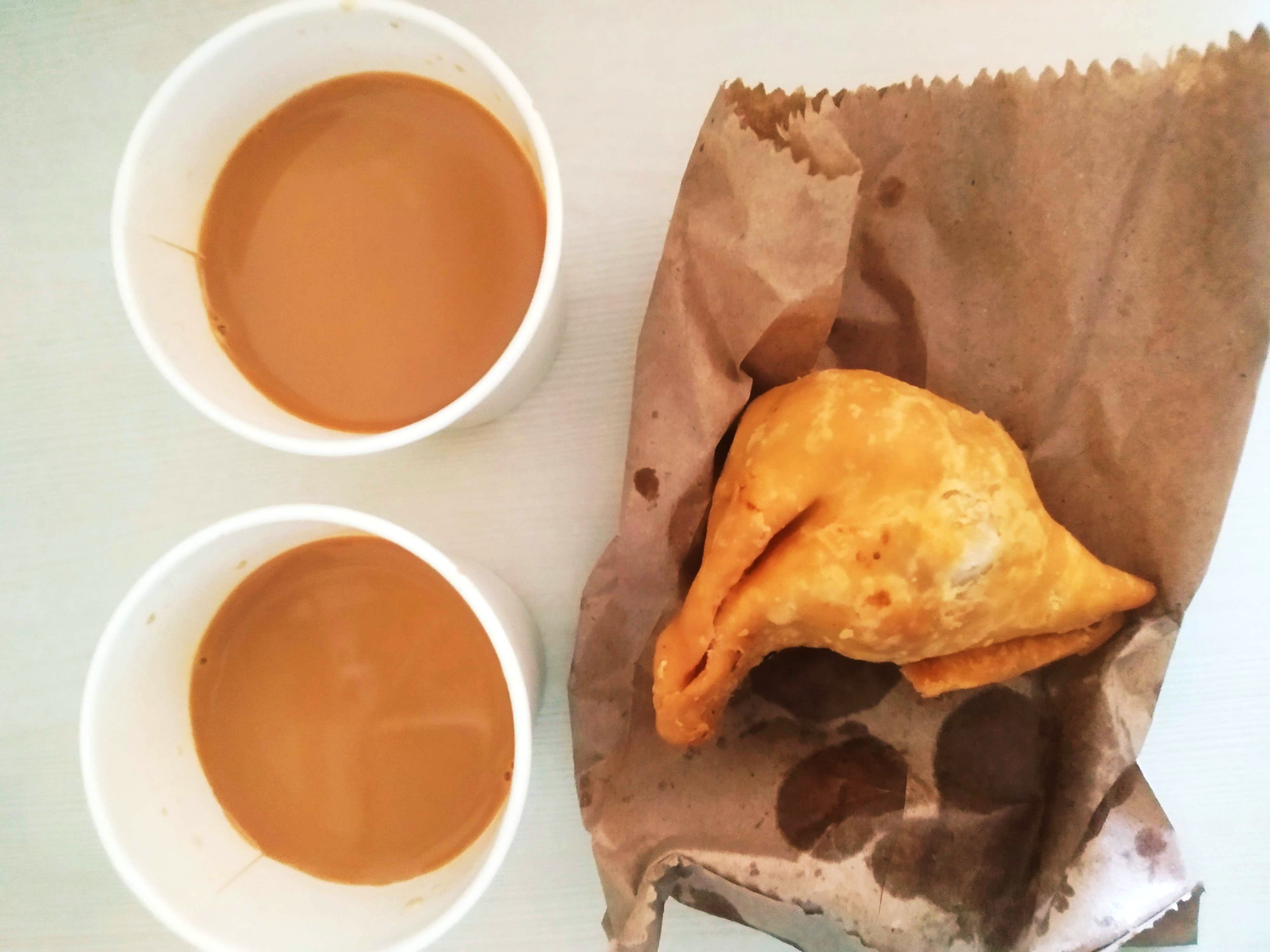 Need A Tea Break? Pop By This Stall For A Perfect Cup Of Tea & Samosas