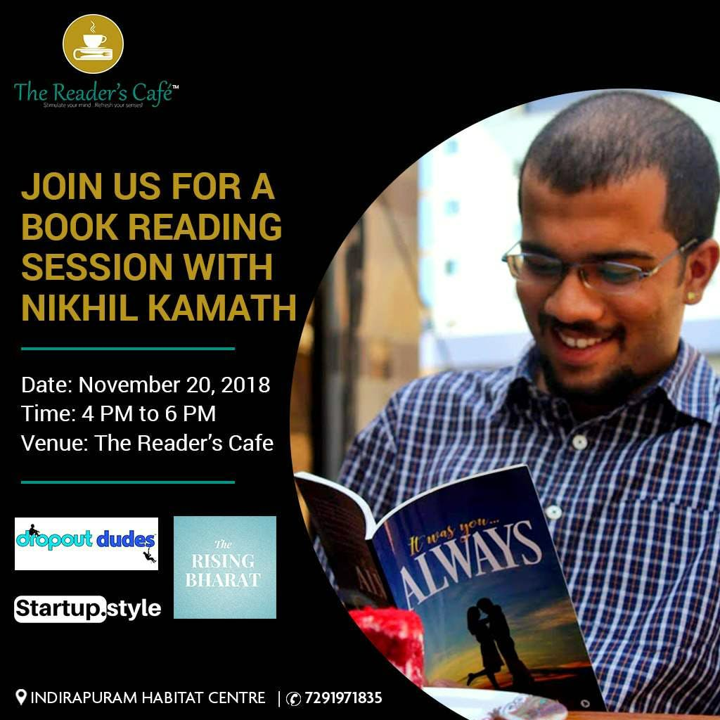 Tittilate your Reading Buds With Author of It Was You.. Always!