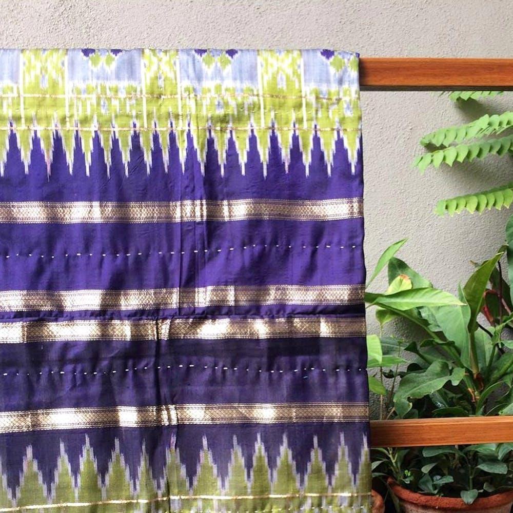 Purple,Lavender,Violet,Leaf,Textile,Plant,Interior design,Flower,Pattern,Curtain