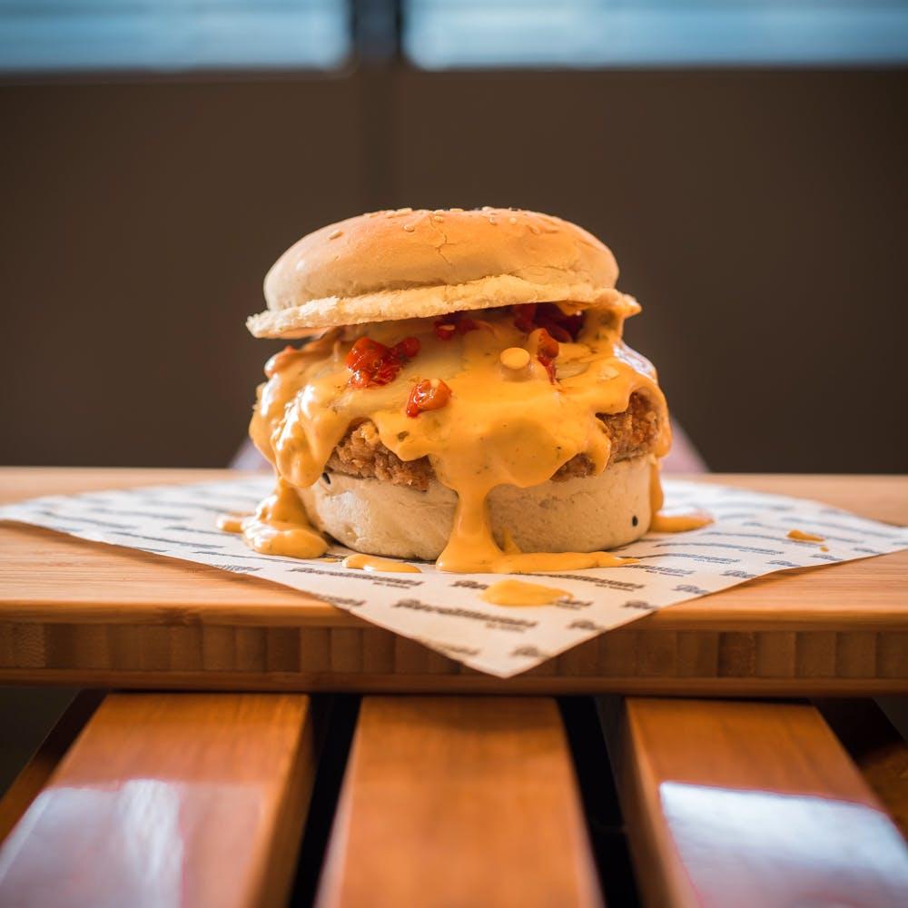Food,Dish,Hamburger,Cuisine,Ingredient,Junk food,Cheeseburger,Slider,Veggie burger,Breakfast sandwich