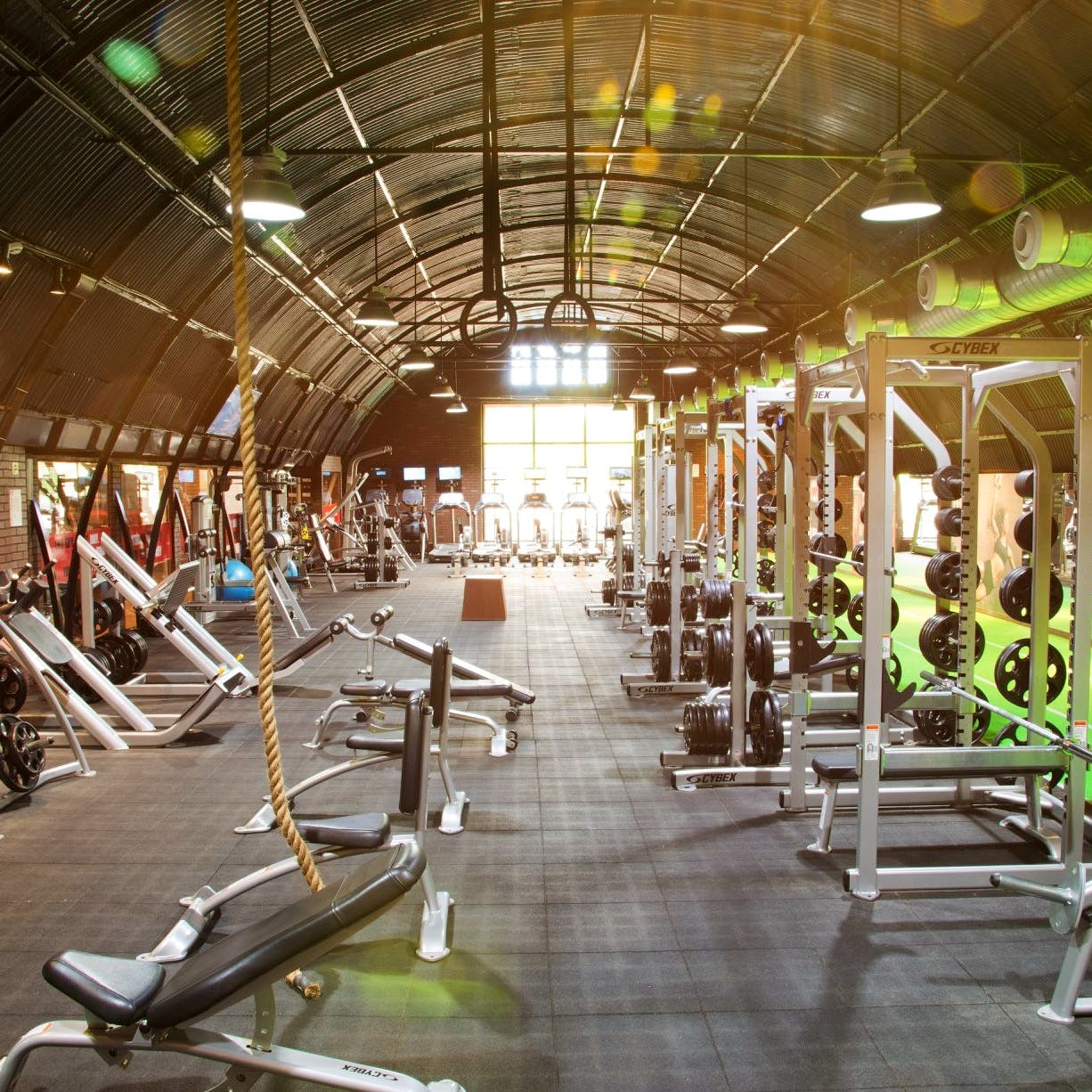 Gym,Physical fitness,Room,Exercise machine,Exercise equipment,Sport venue,Leisure,Building,Exercise,Plant