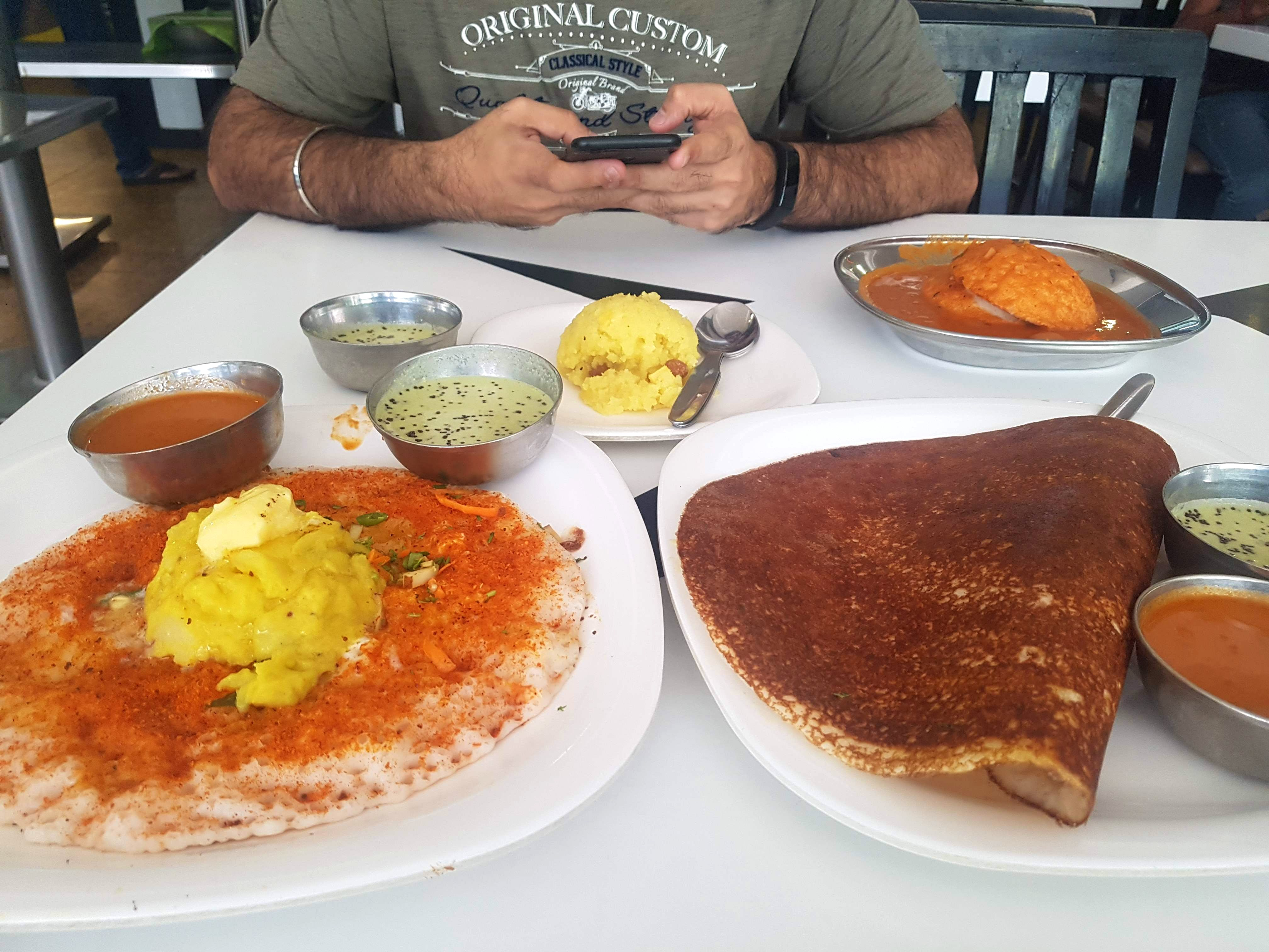 Quick South Indian Breakfast