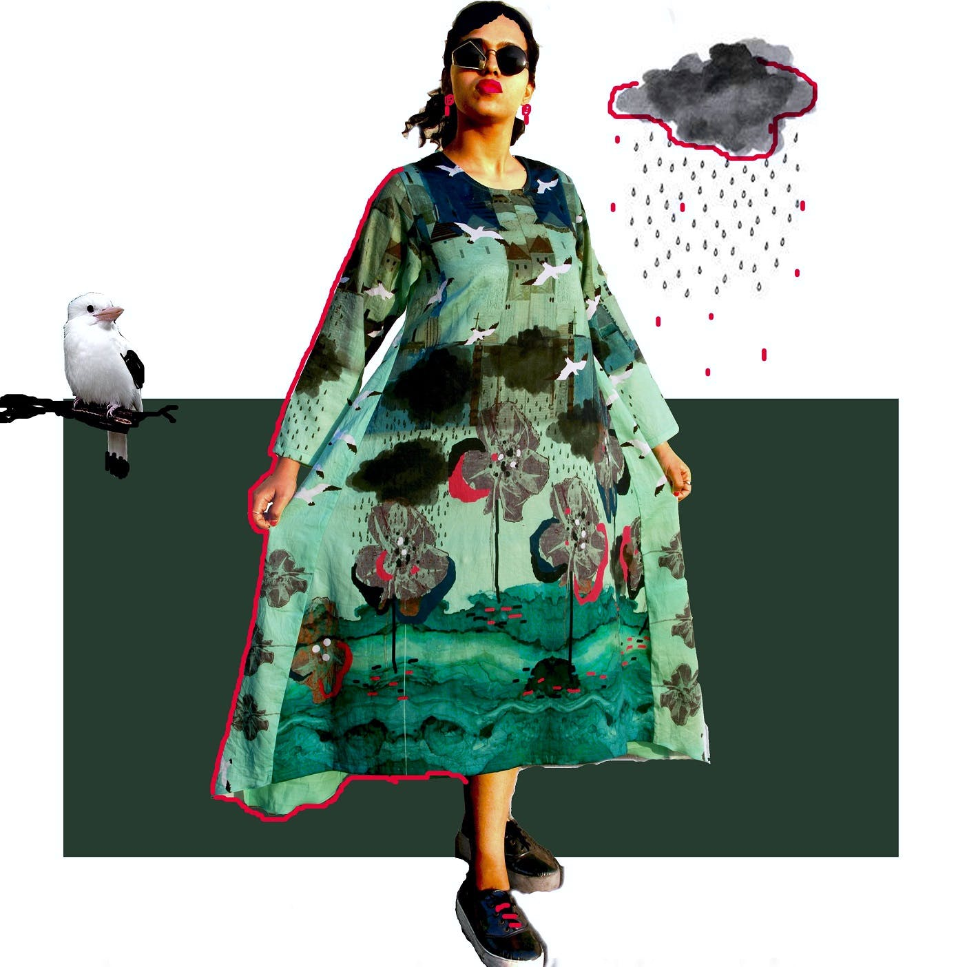 We Are Loving These Dresses With Quirky Motifs Made With Surplus Fabrics