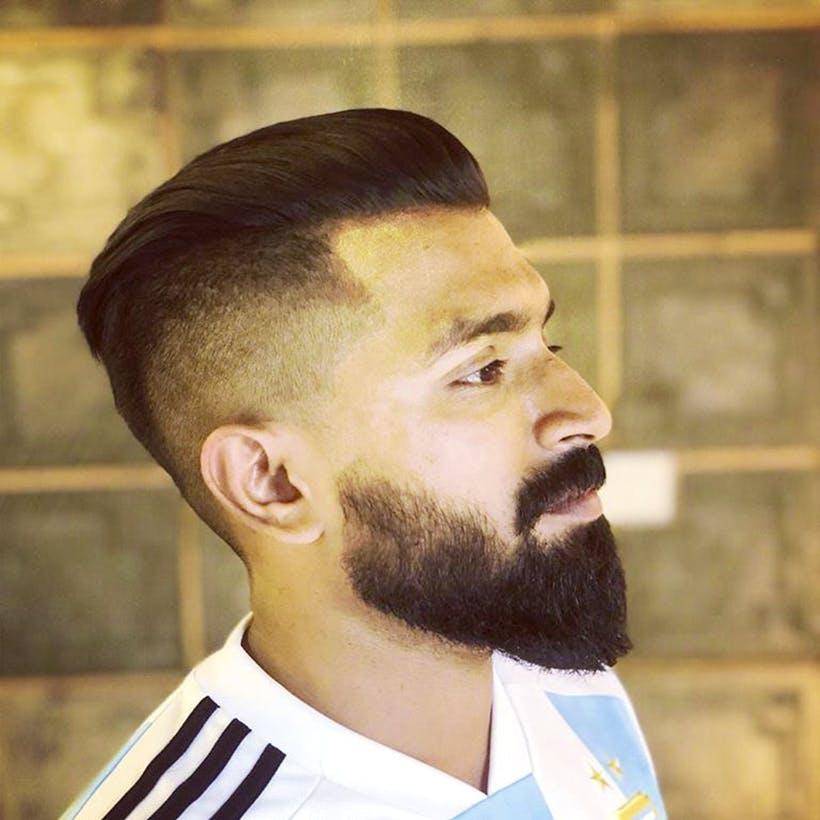 Hair,Facial hair,Beard,Hairstyle,Chin,Forehead,Moustache,Caesar cut,Neck,Jaw