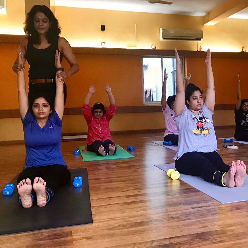 Get In Shape With Sharmila S Yoga Studio Lbb Hyderabad