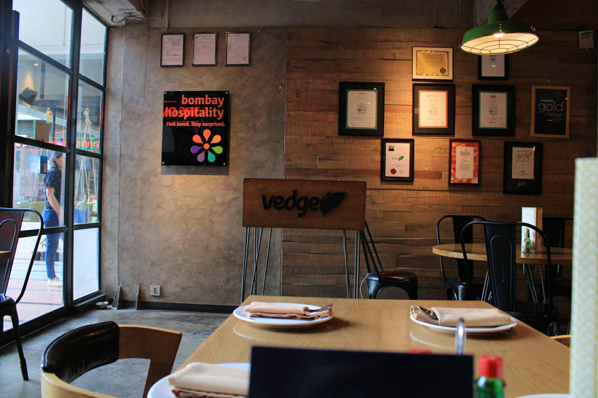 Vedge - One Of The Best Vegetarian Restaurant | LBB