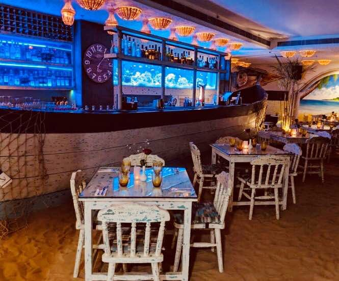 Enjoy Appetising Seafood At This Pretty Beach Themed Dining Restaurant