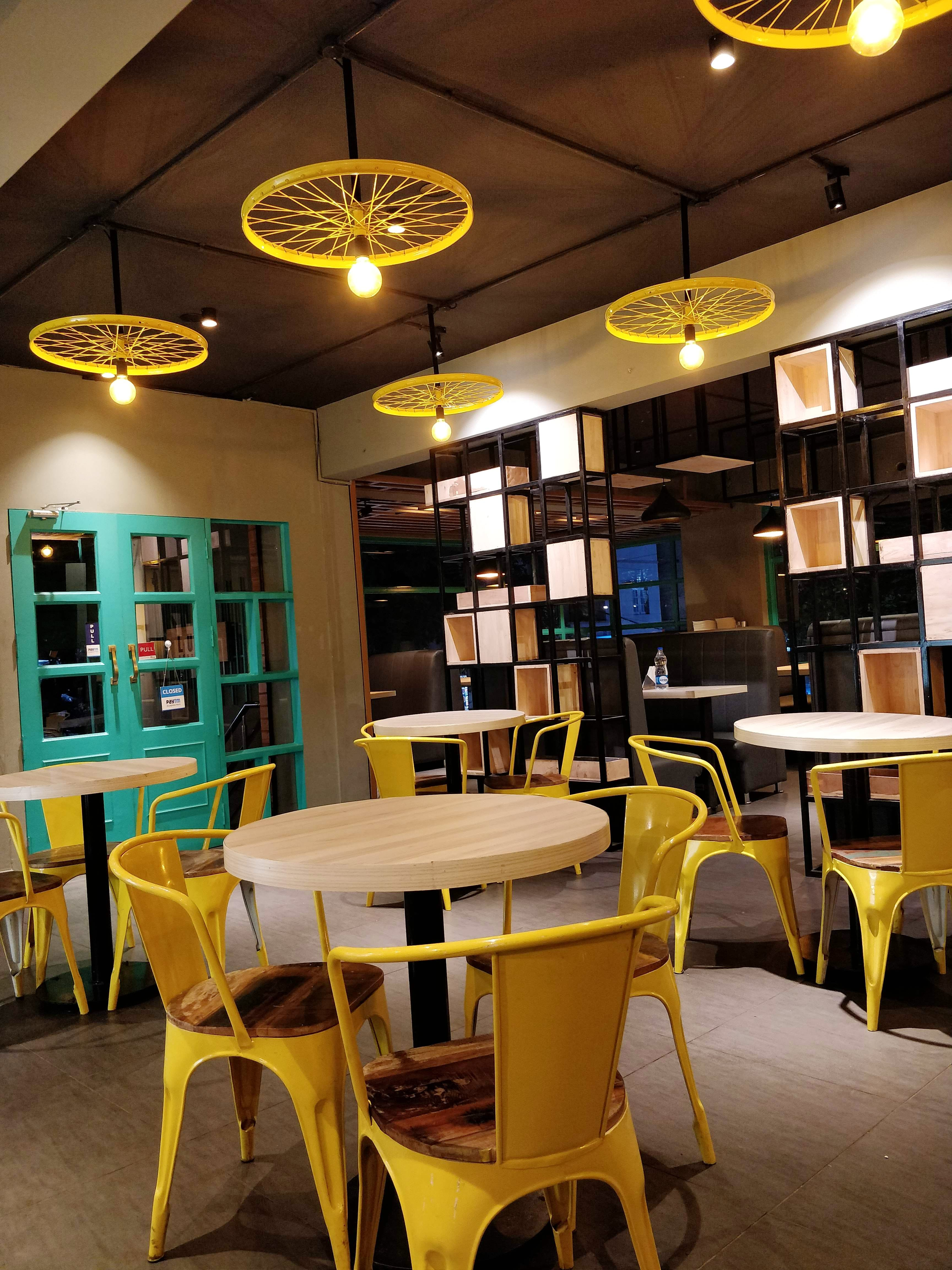 This New Cafe Has A Hold Of All Of Major Cuisines With Pretty Interiors