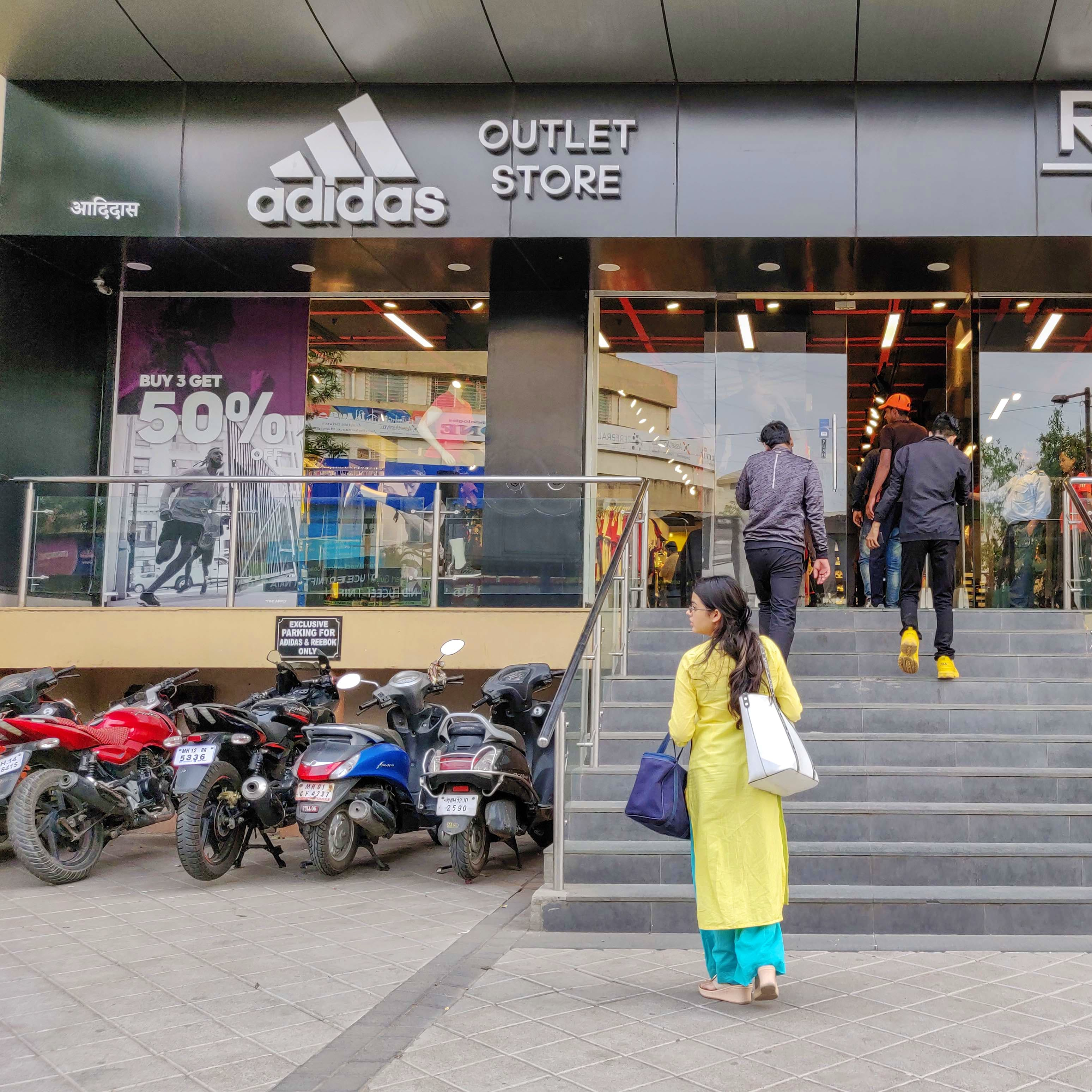 Adidas Factory Outlet | LBB