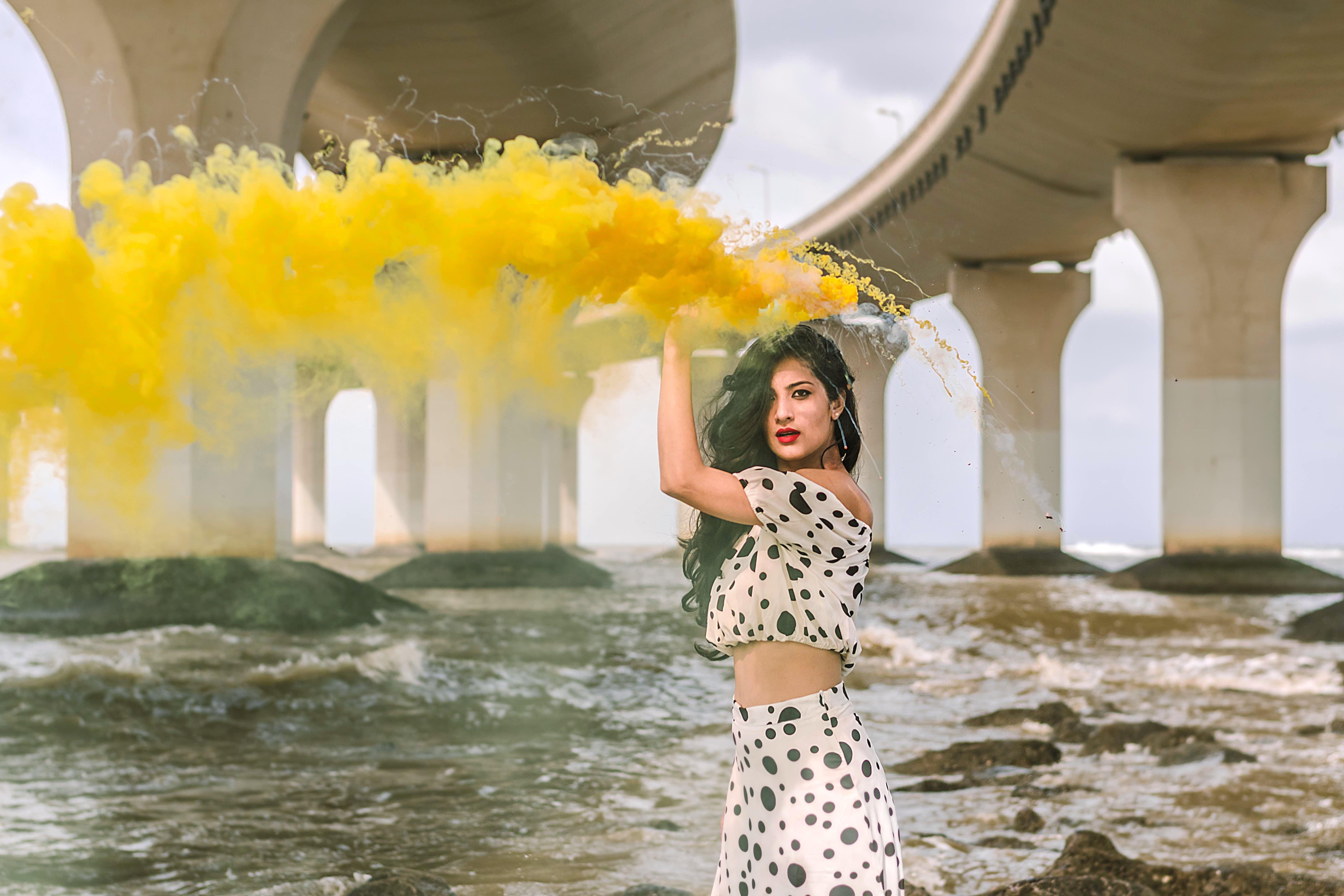 Yellow,Photograph,Lady,Beauty,Summer,Water,Fun,Fashion,Design,Spring