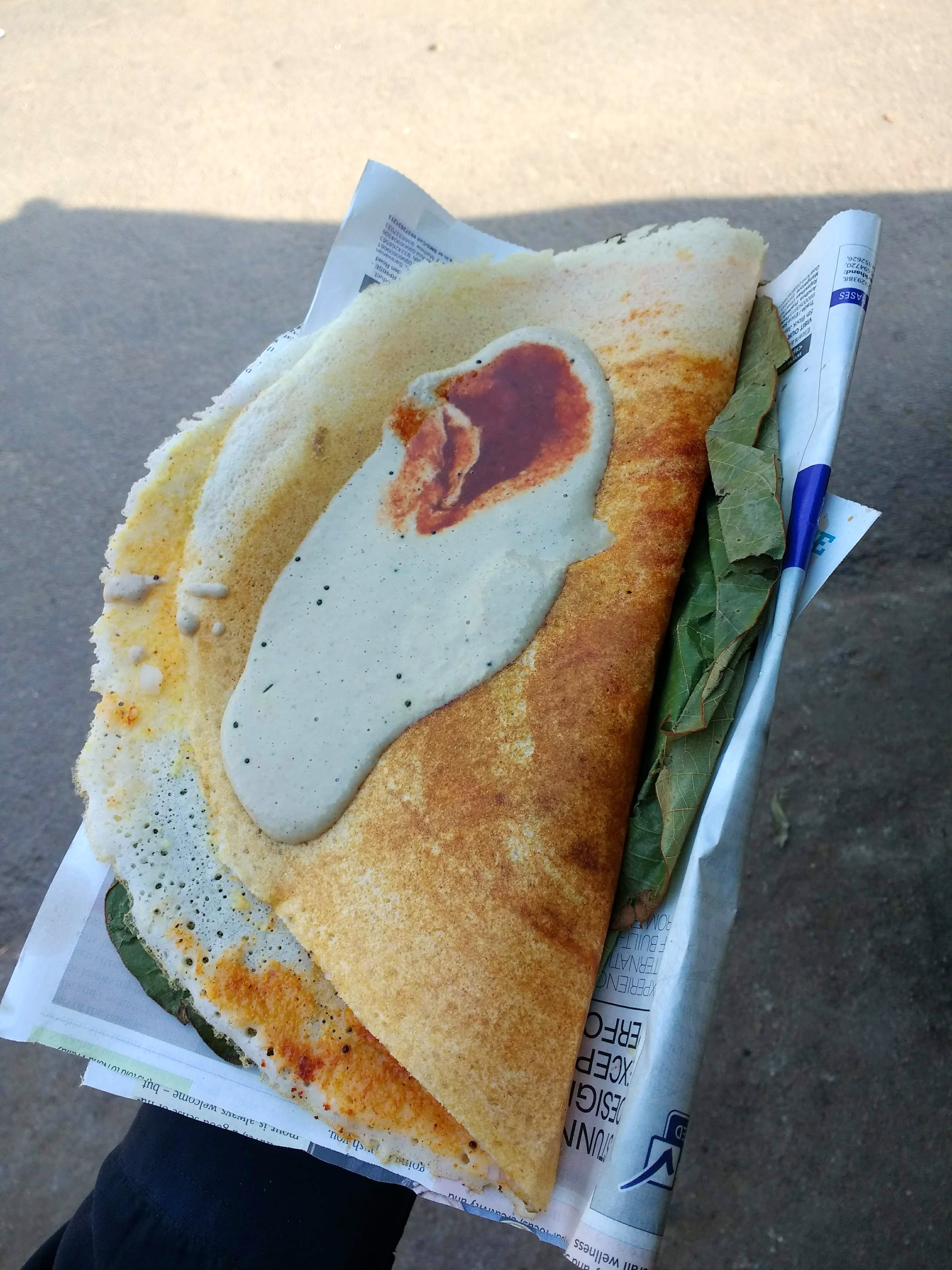 Spicy Dosa