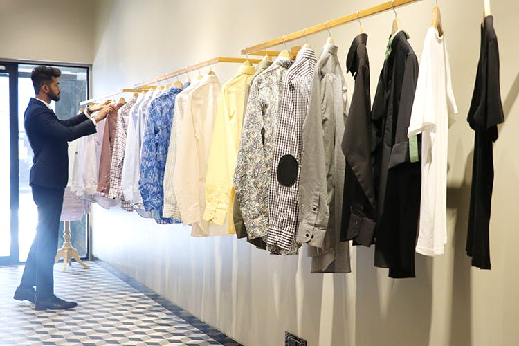 Men, Design Your Own Shirt at Bombay Shirt Company's New Store In Basant Lok