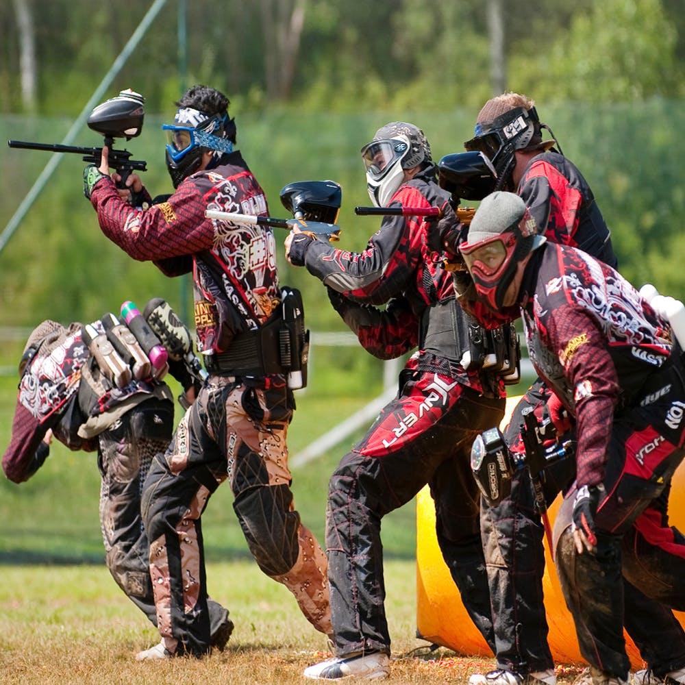 Paintball,Games,Paintball equipment,Sports,Skirmish,Recreation,Shooting,Paintball marker,Gun,Team sport