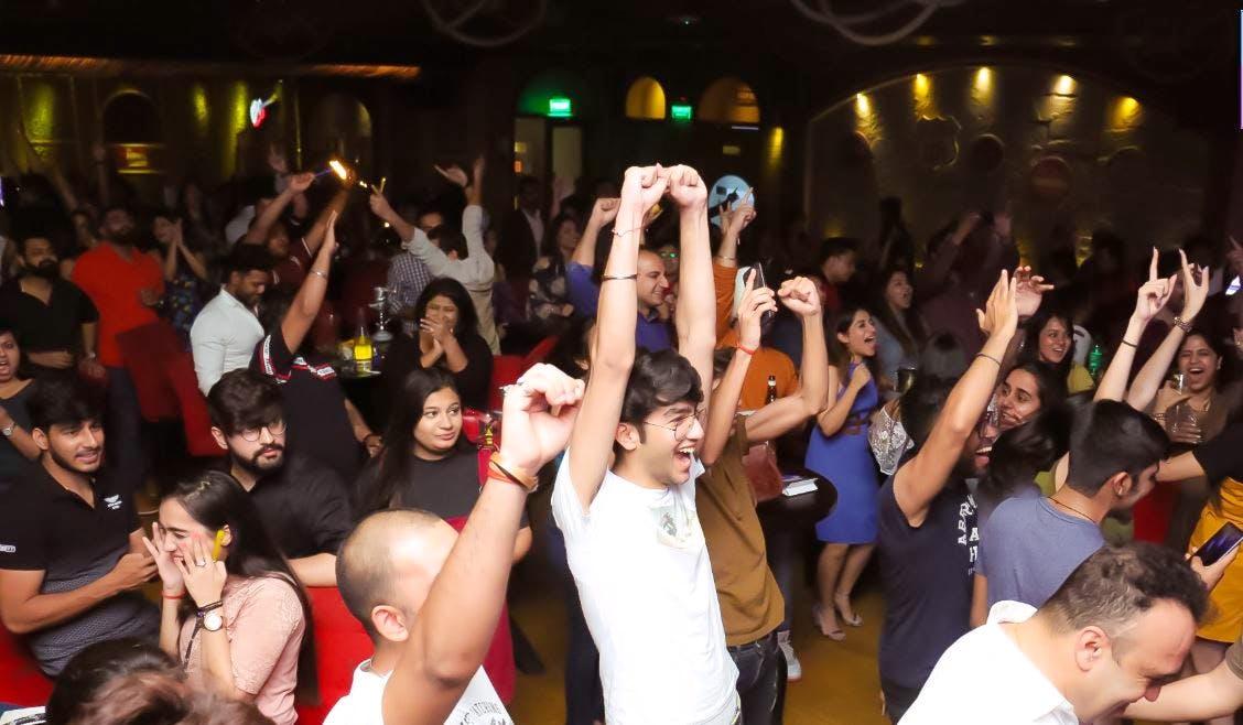 Crowd,People,Event,Party,Performance,Audience,Fun,Nightclub,Leisure,Cheering
