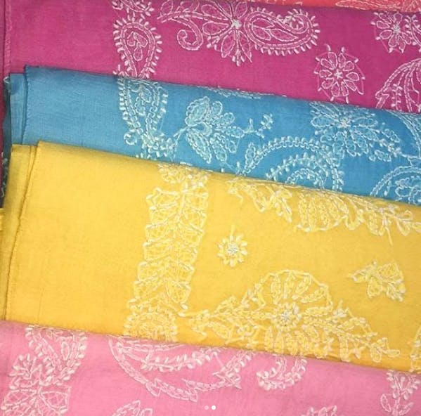Yellow,Pink,Textile,Rectangle,Magenta,Linens,Pattern