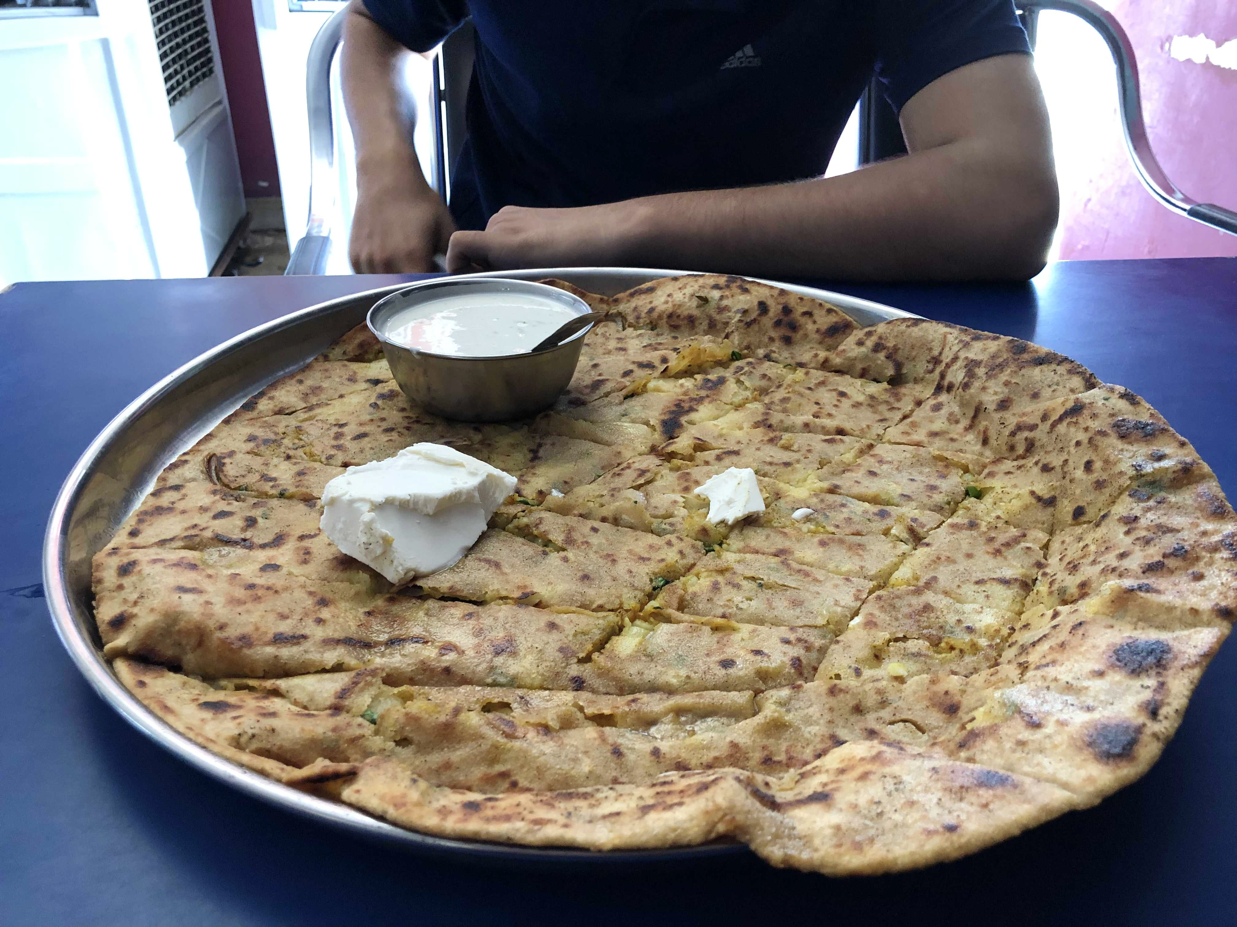 This Junction Have Got Delicious Varieties Of Fresh Paranthas