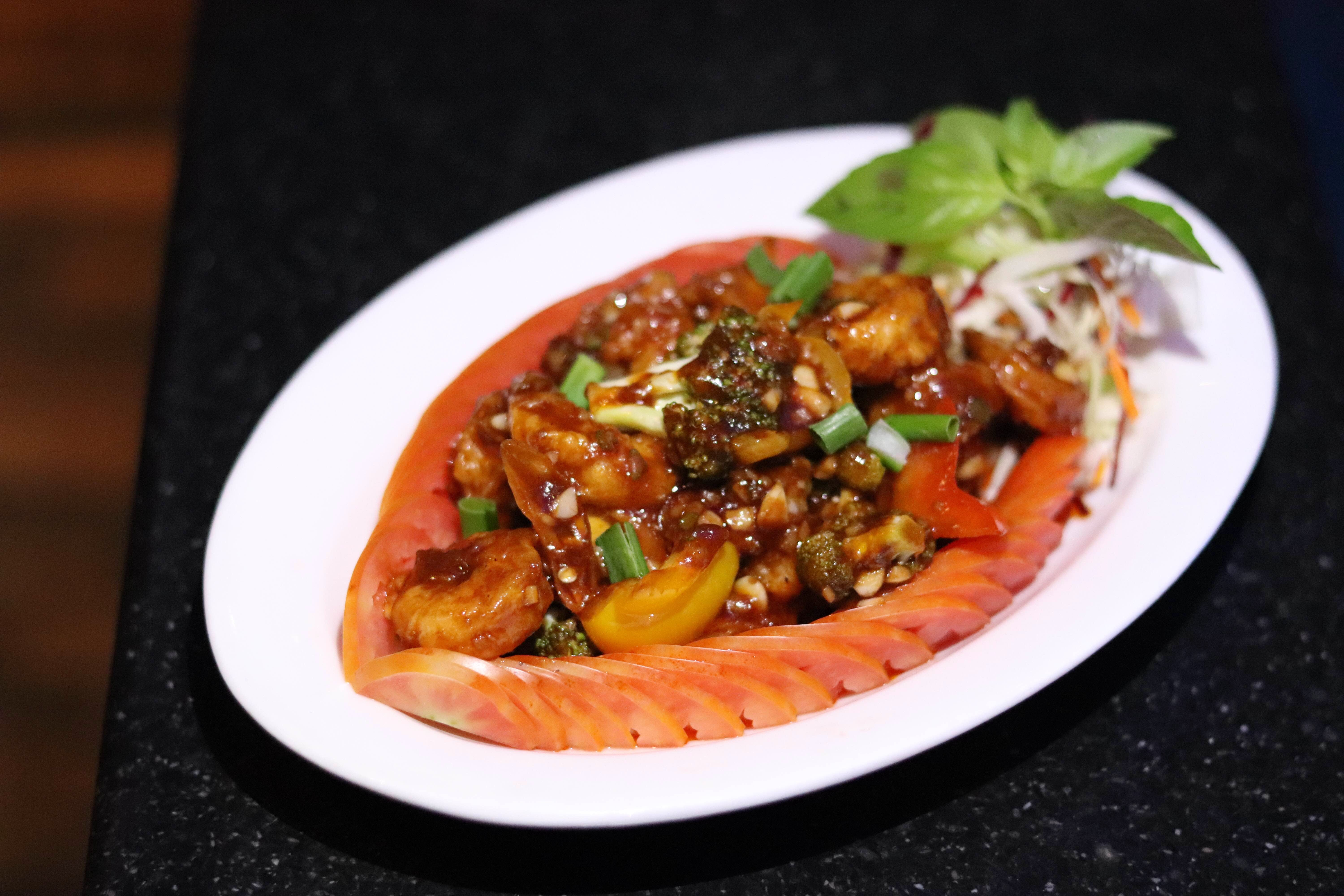 Dish,Cuisine,Food,Ingredient,Meat,Produce,Recipe,Caponata,Sweet and sour,Curry