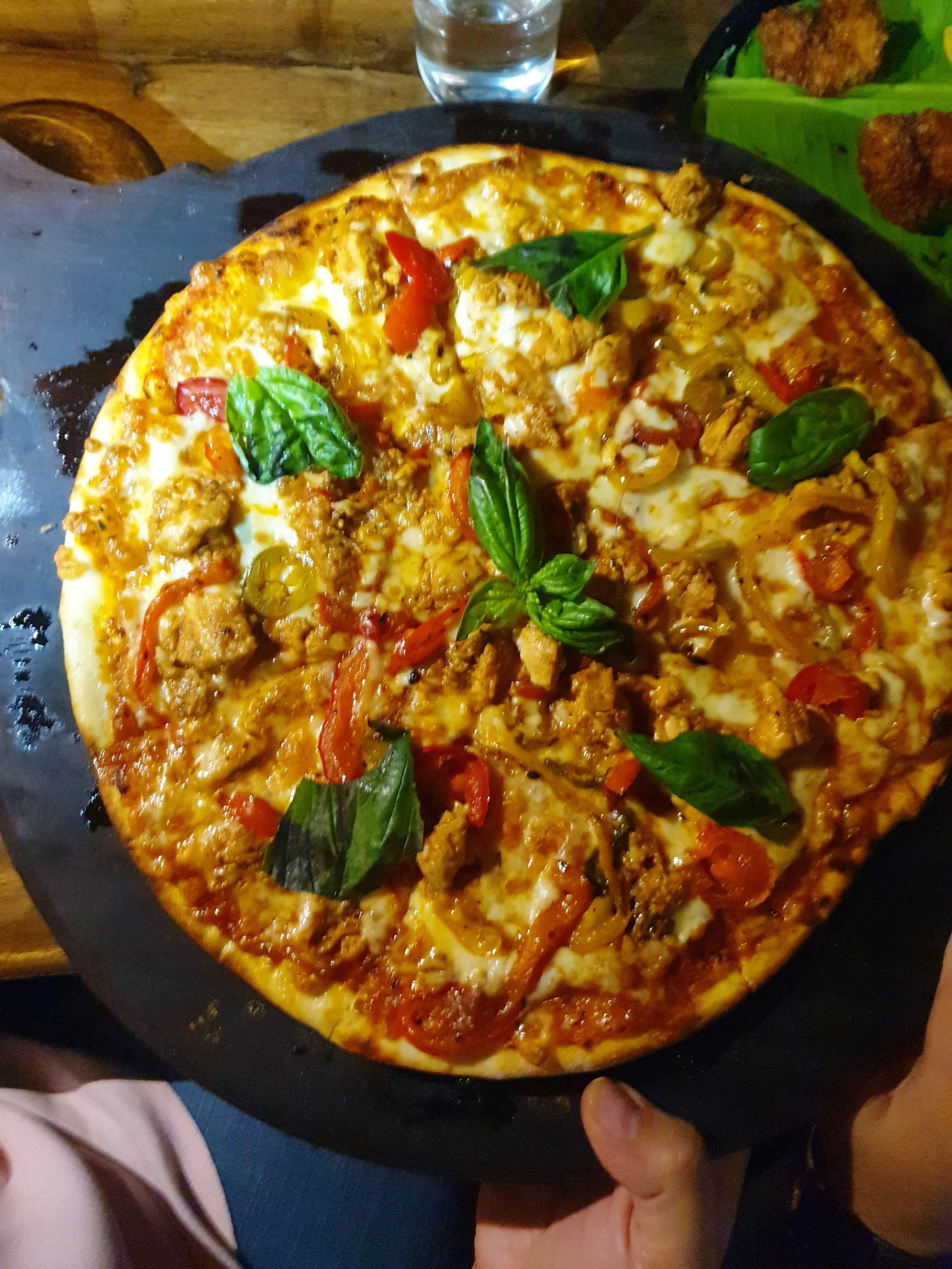 Dish,Food,Cuisine,Ingredient,Frittata,Italian food,Pizza,California-style pizza,Meat,Produce