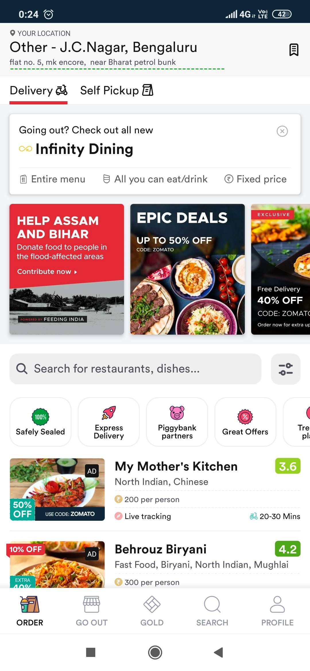 After The Infinity Stone,  Comes Zomato Infinity Dining