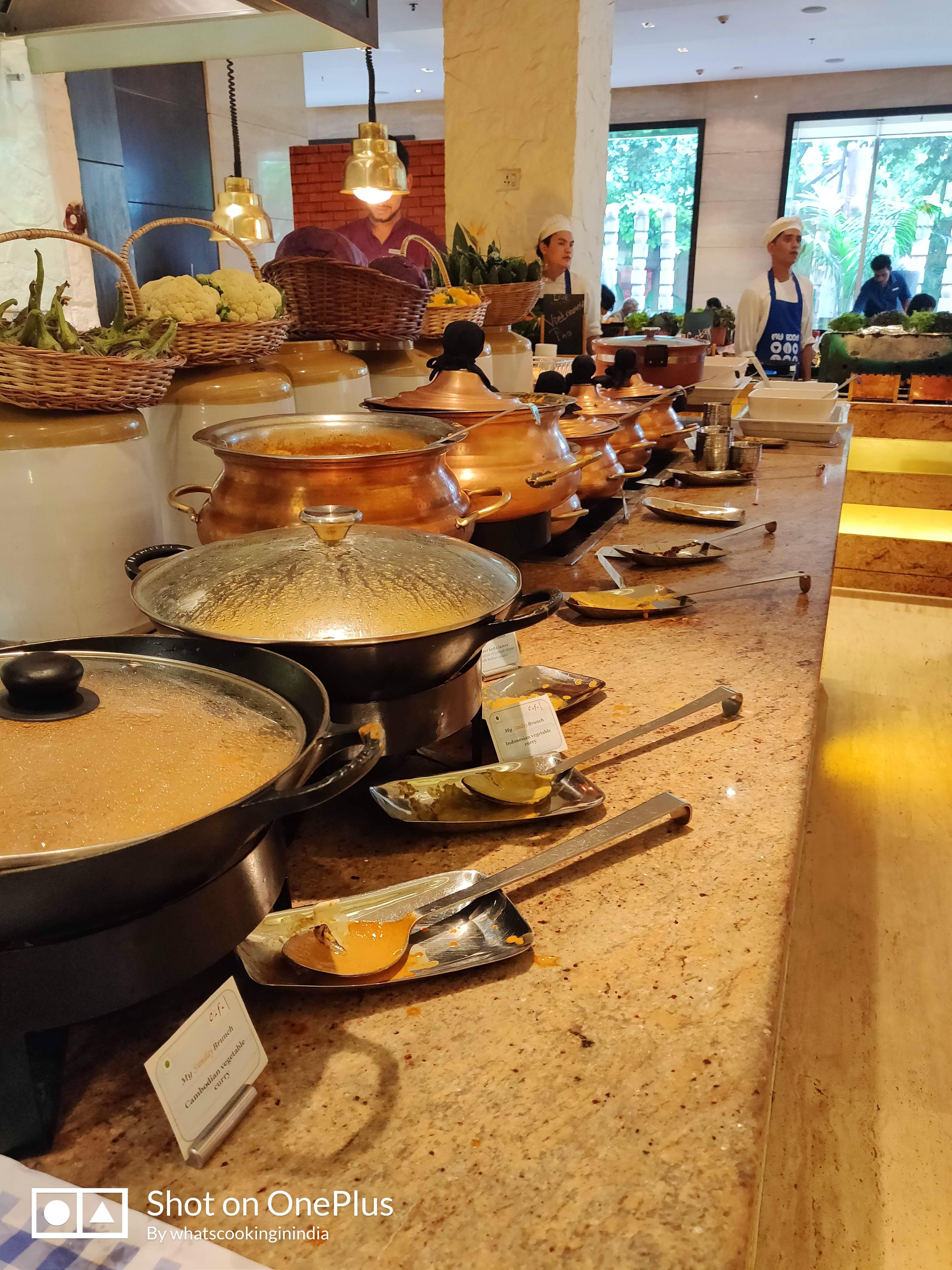 Buffet,Room,Restaurant,Furniture,Meal,Interior design,Cookware and bakeware