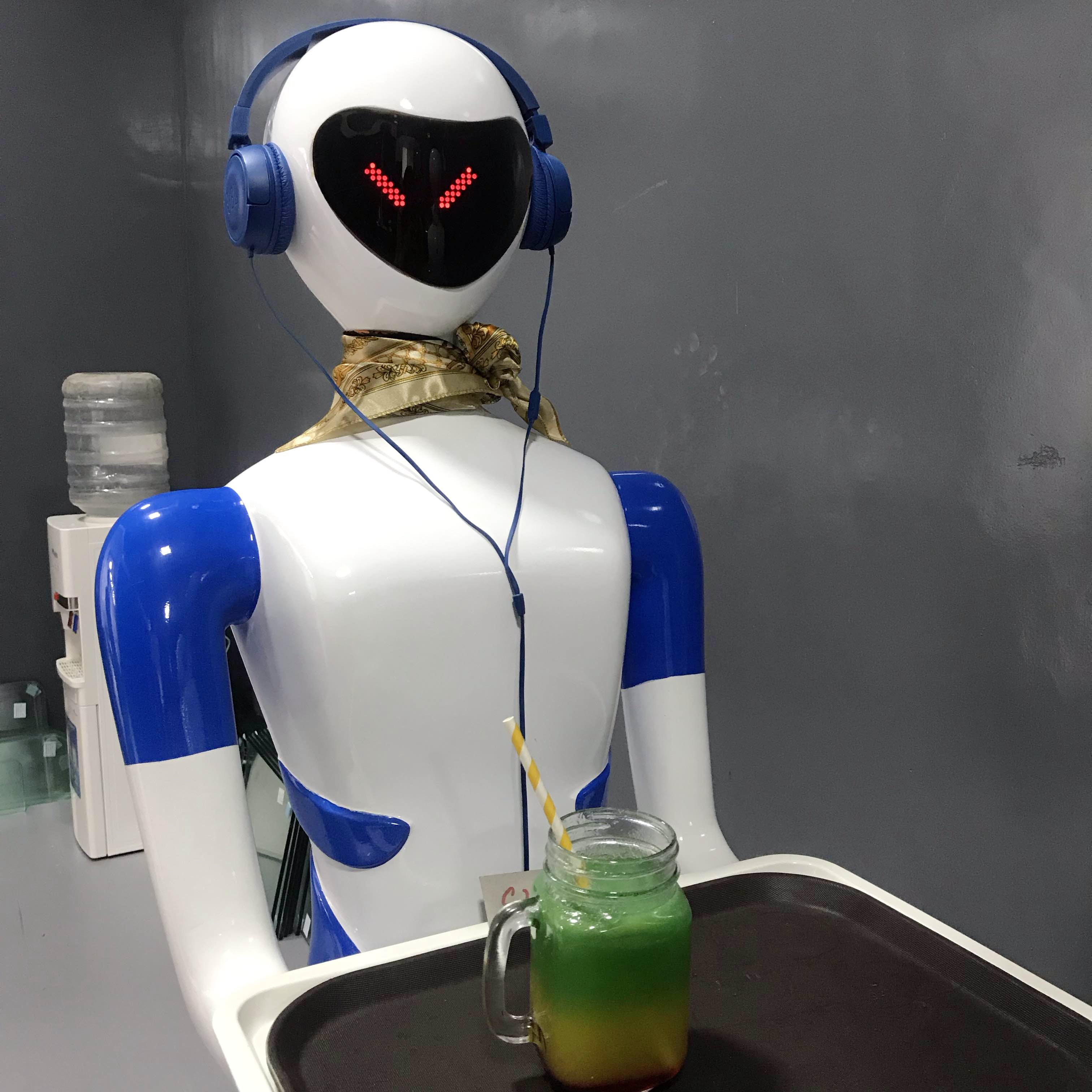 The First Ever Robot Restaurant In Bangalore