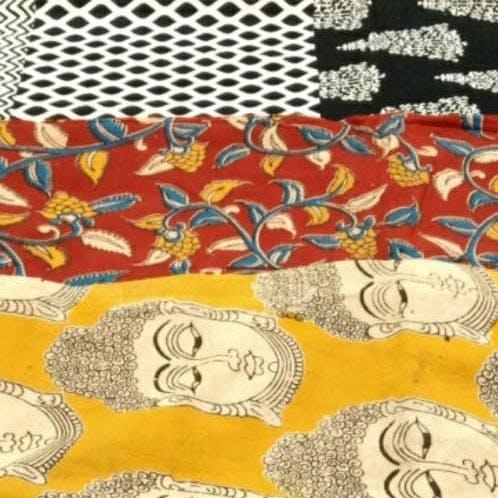 Yellow,Orange,Textile,Pattern,Design,Visual arts,Art,Fictional character,Drawing,Style