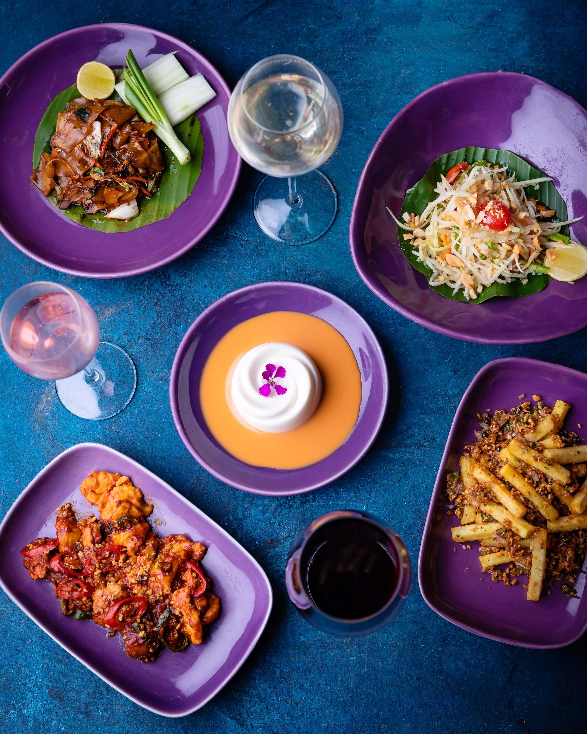 A Four-Course Menu Paired With Wine For An Ultimate Thai Dining Experience
