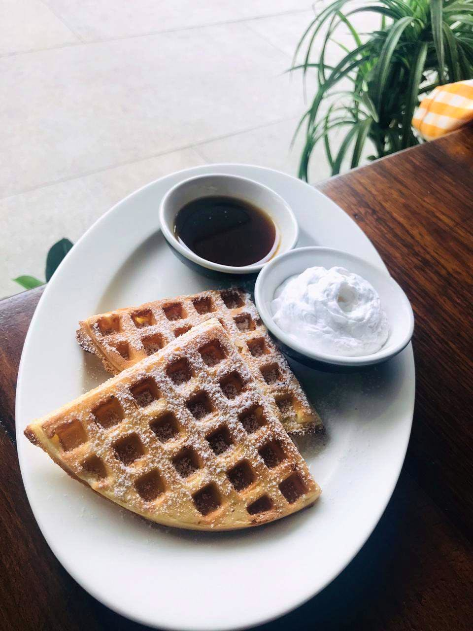 Dish,Food,Waffle,Breakfast,Meal,Belgian waffle,Cuisine,Wafer,Ingredient,Brunch